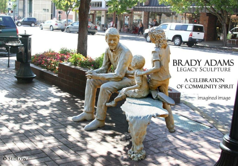 Brady Adams Legacy Sculpture
