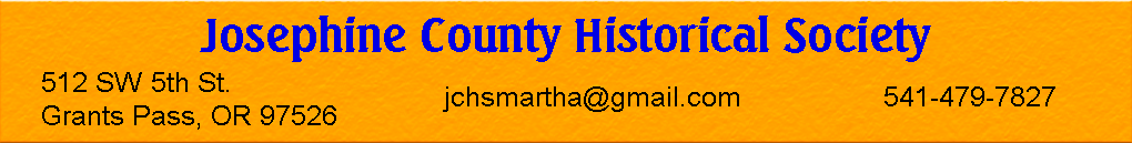 Josephine County Historical Society